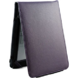 Groov-E Genuine Leather Flip Case for Kindle 4 / Kindle Touch - Purple